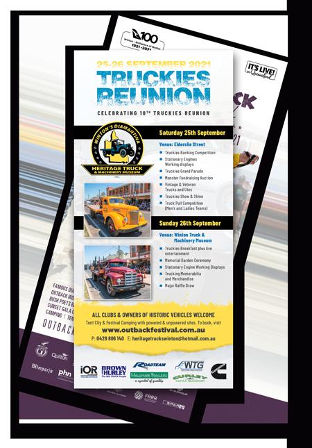 View 2021 Truckies Reunion DL Flyer