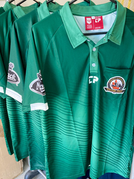 Polo shirt for Winton's Heritage Truck and Machinery Museum